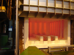 Four de traitement thermique à haute précision